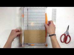 ▶ Paper Bag Mini Album Page Tutorial - YouTube