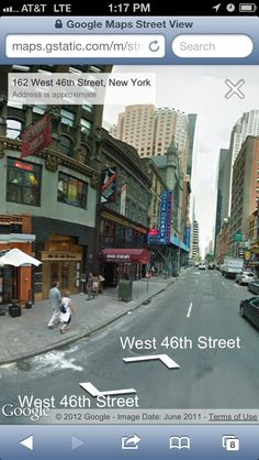 How to Access Street View in iOS 6 - love the idea of using both the 3D and street view to learn about referencing location.