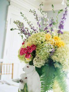arrang idea, floral centerpieces, bouquet, flower arrang, flower centerpieces, flowering shrubs, flowers, easter centerpiece, garden