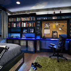 Football Themed Room Design, Pictures, Remodel, Decor and Ideas - page 10