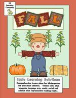 Preschool and Kindergarten Fall Activities