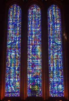 Contemporary Stained Glass Windows