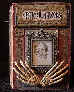 altered book art
