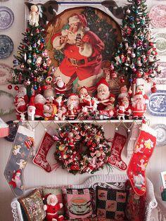 Kitsch Christmas, so fun to look at...