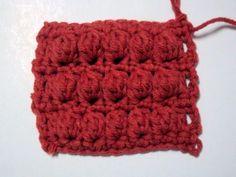 Tutorial bobble stitch