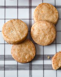 Smoked Cheese Cocktail Cookies via Dorie Greenspan