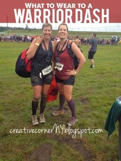 First time mud run? What to Wear to a Warrior Dash or mud run!