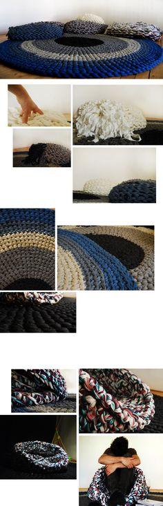 arm knitting : andrea brena