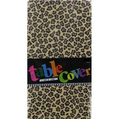 Leopard Plastic Table Cover | Shop Hobby Lobby