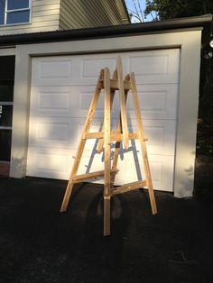 Art easel - Made from pallet timber #Pallets