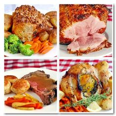 BEST SUNDAY ROAST DINNERS - in the Sunday dinner doldrums? Not to worry, we've got you covered. Here is a collection of some of the best Sunday dinner ideas that Rock Recipes has featured over the years. There are pork, beef, ham, turkey and chicken recipes included as well as a great onion gravy and our MUST TRY roasted potatoes, so try something different this Sunday and break out of the dinner doldrums.