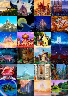 Name these Disney movies!