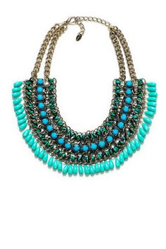 Cool statement necklace