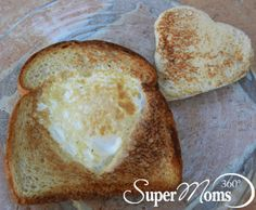My Heart Belongs to Breakfast - A heartfelt treat for Valentine's Day morning that's delicious and nutritious. Tag: Valentines Day Recipes for Kids | Valentines Day Treats | Easy Valentines Day Recipes | Valentines Day Breakfast