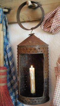 primitive lantern