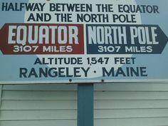 Rangeley sign