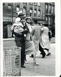 family time, nyc, 1936