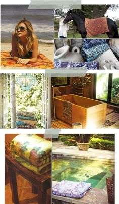 fresco towels: prints and fading add so much character