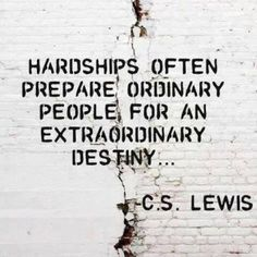 Tips to make you have an awesome day! have an awesome day, life quotes, food for thought, hardship, bad day quotes, cs lewis, extraordinari destini, people, thing