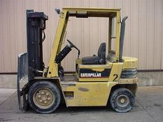 1993 #CAT V50E #usedforklifts for Sale - Capacity: 5,000 - Mast: 83 / 129 STD - DIESEL, AUTO, S/S #materialhandling