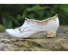Antique Porcelain Shoe