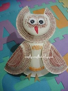 Owl sunday school, owl crafts, paper plate crafts, animal crafts, kid crafts, paper plates