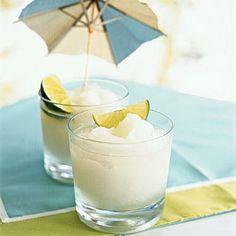 Frozen Lemonade with Coconut Rum...