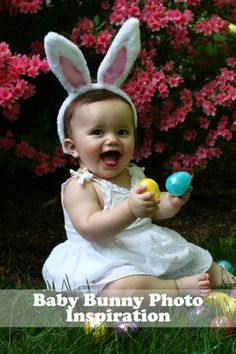 Tips for getting adorable Easter photos of your little bunny #photography #easter #bunnyEars #easterbunny