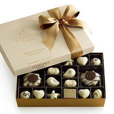 White Chocolate Gift Box $29.00 #GODIVA