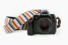 Zigzag Camera Strap - The Photojojo Store!