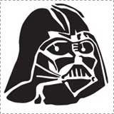 Darth Vader Pumpkin Pattern