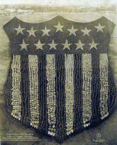 US Shield, Living Insignia, 1915