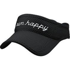 Brooks Run Happy Visor: shield your face from the sun and rain