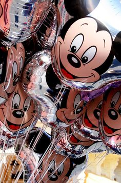 Mickey & Minnie Mouse Balloons