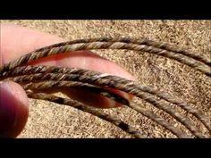 Part 2 Making a Primitive Bowstring from Elk Gut