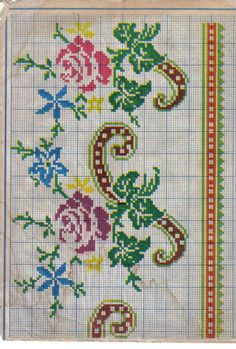 Gallery.ru / Фото #33 - 12 - kento cross stitch, english roseshandmad
