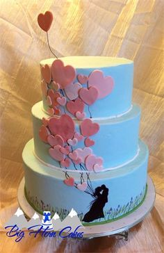 Wedding and Anniversary Cakes on Pinterest