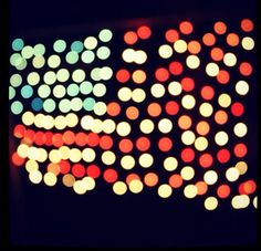 bottle caps, lights, oper gratitud, bokeh photographi, happi 4th, flags, american flag, happi fourth, military families