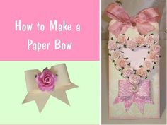 How to Make a Bow Out of Paper