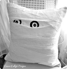 Pottery Barn Mummy Pillow Knock Off