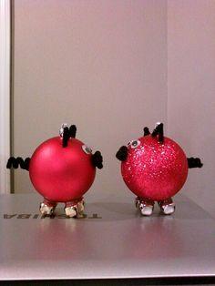 Razorback Christmas ornaments