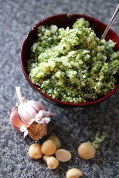 Macadamia Pesto