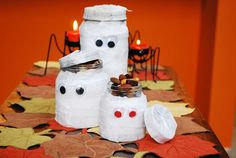 food crafts, octob craft, craft jar, mummi craft