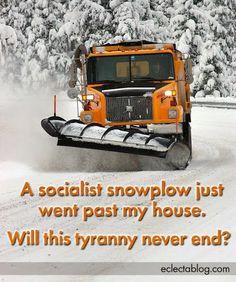 Socialist snowplow