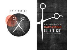 graphic design, business cards, hair designs, hair busi, busi card, hair salon logo