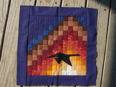 @Amy Gay@ Butterfly Angels Quilting can help you relive the glory of a southern autumn any day of the year with this beautiful quilt block pattern.