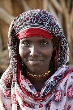 Africa | Afar Woman. Hammed Ela village, Afar, Ethiopia | © Makis Siderakis