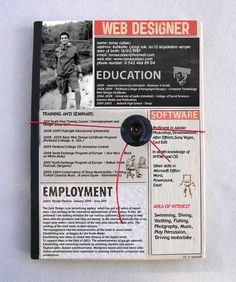 I design infographic resumes like this one - check out my portfolio by clicking the pic