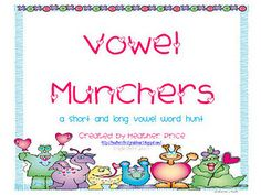 Long and short vowel sort for differentiating instruction.