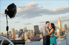 how to use flash at sunset, (balancing flash w/ warm ambient light) - Neil vN - tangents